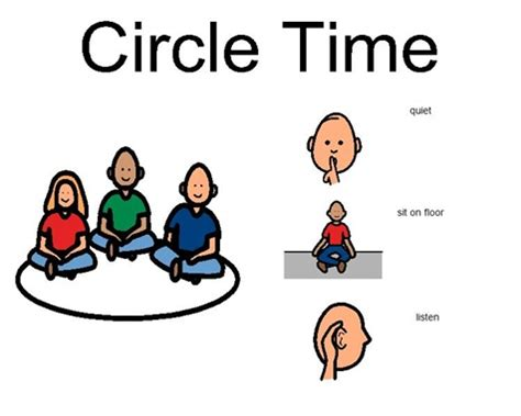 Circle Time Clipart Boardmaker Special Ed Circles