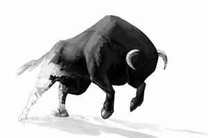 Tableau Deco Noir Et Blanc : tableau moderne taureau izoa ~ Teatrodelosmanantiales.com Idées de Décoration