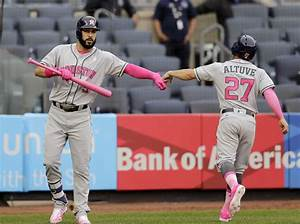 The curious case of Astros star Jose Altuve's pink Mother ...