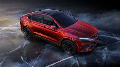 geelys  sports coupe suv pictures unveiled geely