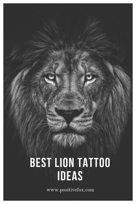Lion Tattoo Meaning – Lion Tattoo Ideas for Men and Women with Photos | Lion Tattoo | Lion