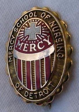 Nursing School In Detroit by Mercy Hospital School Of Nursing Graduation Pin Detroit