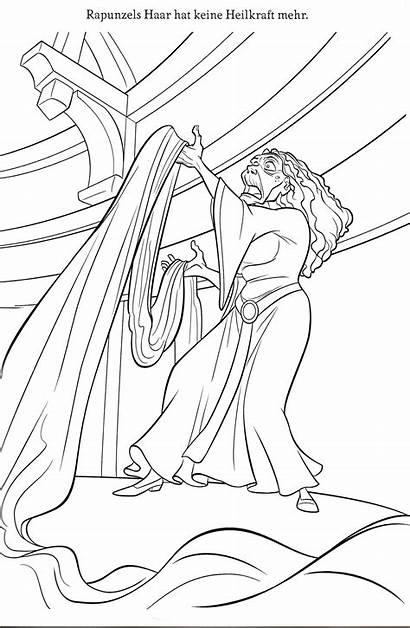 Coloring Disney Walt Scuttle Rapunzel Ausmalbilder Vanessa