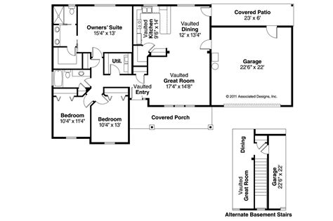 house plans craftsman house plans stanford 30 640 associated designs