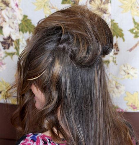 How To Create 60s Hairstyles by Mod Hairstyles How To That 1960s Bouffant