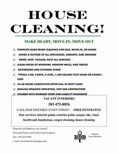 9 best images of cleaning services flyer templates free With cleaning services advertising templates