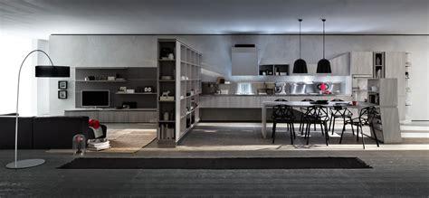 salon et cuisine cuisine design bois en i