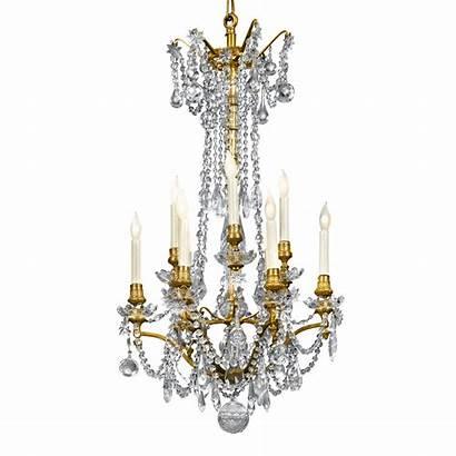 Chandelier Crystal Antique Rau Eight Antiques Besoek