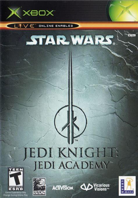 star wars jedi knight jedi academy  xbox release