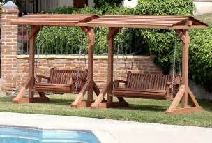 Home Depot Porch Cushions by Wooden Swing Garden Seats Swings Wooden Swing Garden