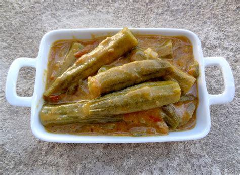 cuisiner les gombos gombos à l 39 indienne sauce curry lait de coco la