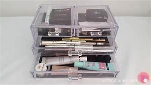 Rangement Maquillage Tiroir : les rangements en acrylique ou plexiglas transparent pour ~ Nature-et-papiers.com Idées de Décoration