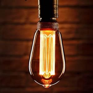 Auraglow, Mysa, Vintage, Filament, St64, Classic, Led, Light, Bulb