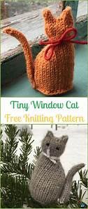 amigurumi knit cat softies free patterns