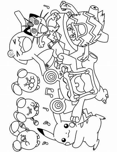 Pokemon Coloring Pages Adults
