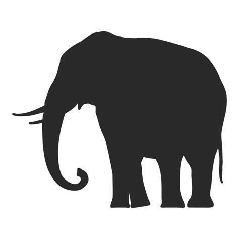 vinilo decorativo silueta elefante