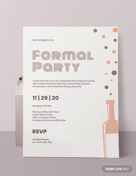 36+ Elegant Party Invitation DesignsPSD AI Word