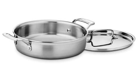 cuisinart multiclad pro stainless steel  casserole  quart cutlery