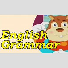 Basics Of English Grammar For Kids  English Conversation Learn & English Speaking In English