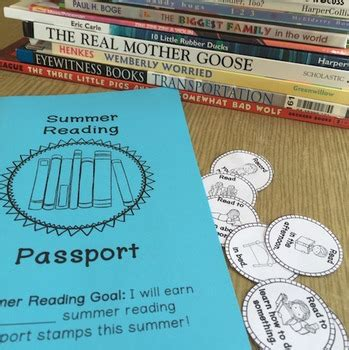 summer reading passport single classroom