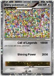 Pokémon Shiny pokemon 4 4 - Call of Legends 10000 - My ...