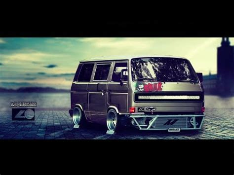 new year 2018 drift vw t3 virtual tuning youtube