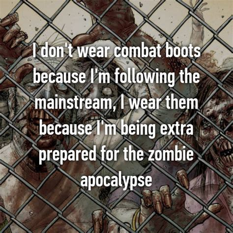 apocalypse zombie prepared ways being