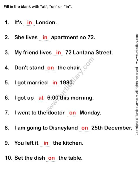 1000 images about preposition worksheets on