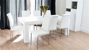 Modern White Oak Dining Table Chunky Oak Dining Table