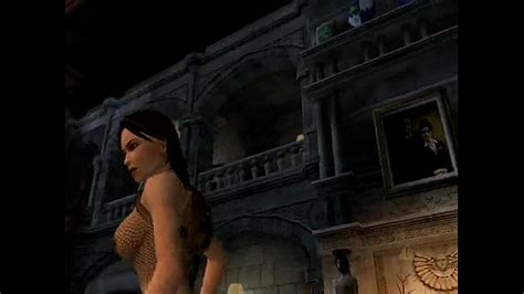 Lara Croft Nude In Tomb Raider Anniversary