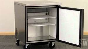 True Undercounter Freezer Video  Tuc-27f