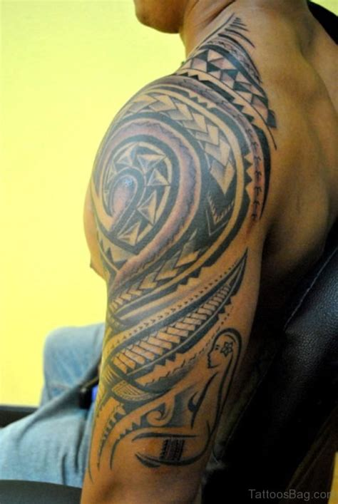 nice  sleeve shoulder tattoos