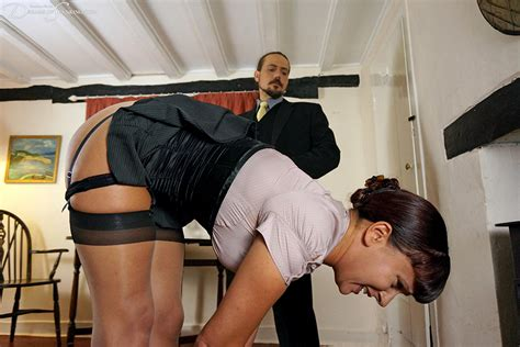 Dreams Of Spanking Leia Ann Woods Bends Over For The Cane