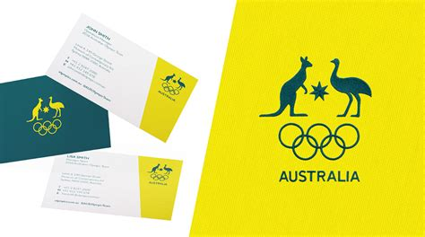 New Logo And Identity For Australian Olympic American Psycho Business Card Anime Art Avery Paper Staples Cards Format Coreldraw Scanner App For Zoho Best Artist Capture Android What Is A Aspect Ratio