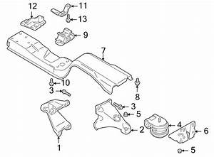 Chevrolet Tracker Automatic Transmission Mount Bracket  1
