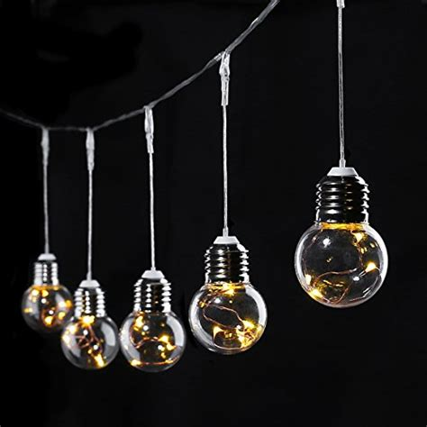 le 20ft led globe copper wire string lights 25 units g45