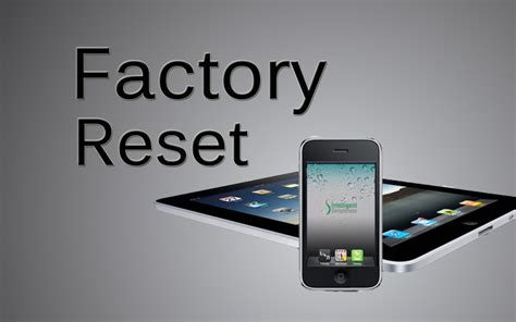 factory reset iphone iphone ios 7 factory reset green poison