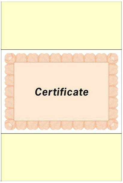 Christ Bible Certificates Heaven Course Called Country