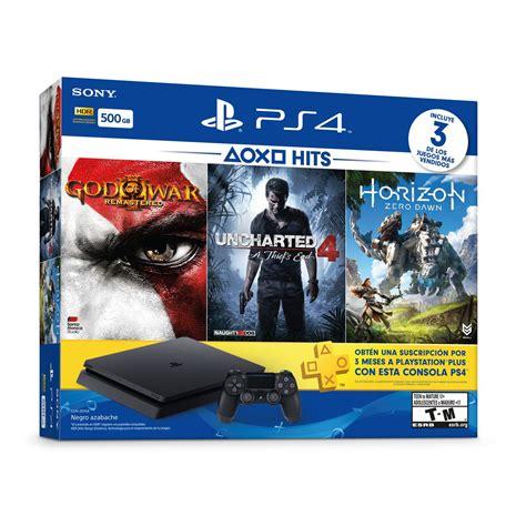 ps4 console bundle consola ps4 bundle hits 2