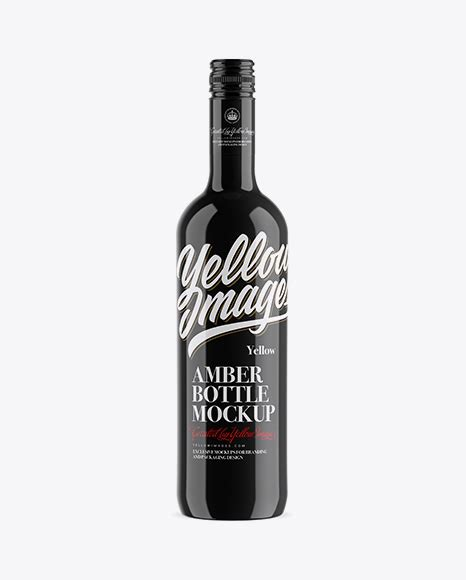 All free mockups consist of unique design with smart object layer for easy edit. Download Psd Mockup Alcohol Black Bottle Glass Label ...