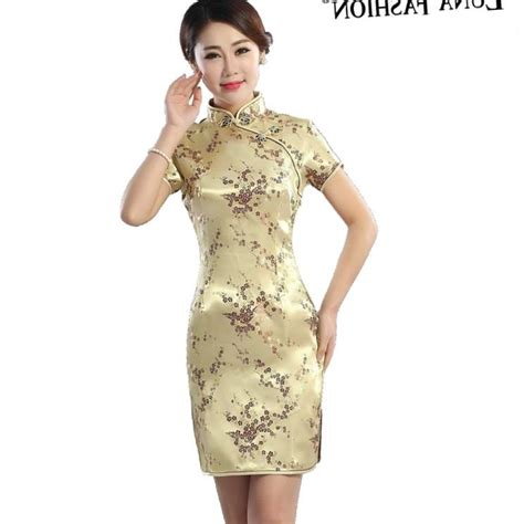 dresses 2018 new year cheongsam style thick warm new plus size asian dresses pluslook eu collection