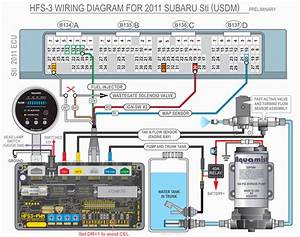 Subaru Sti To Hfs-3 Wiring Diagrams  2004-2013