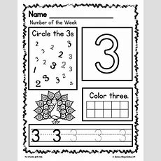 Number Sense Morning Work Prekindergarten Math Numbers 15 Number Of The Week