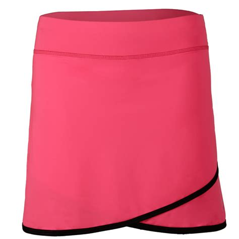 sofibella womens dark knight   skirt neon pink   tennis shop