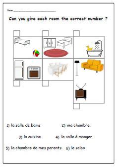 french worksheets printables images french