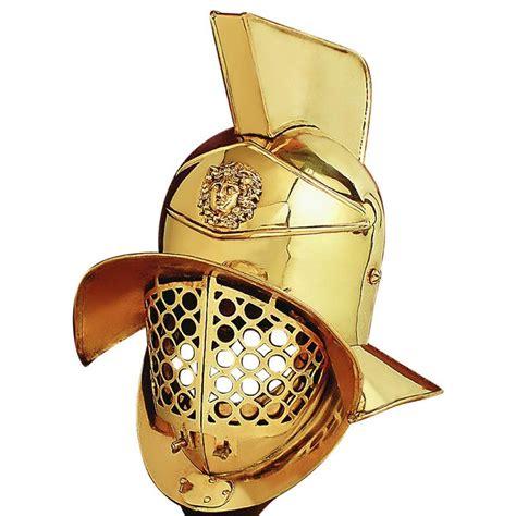 Gladiator Helmet Brass