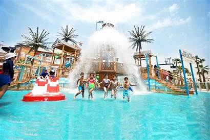 Waterpark Laguna Dubai Water Park Uae March