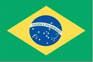 Vlag Brazilie Braziliaanse vlaggen 30x45cm voordelig