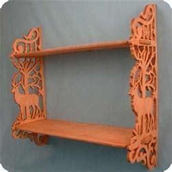 deer  nature curio shelf pattern scrollsawcom