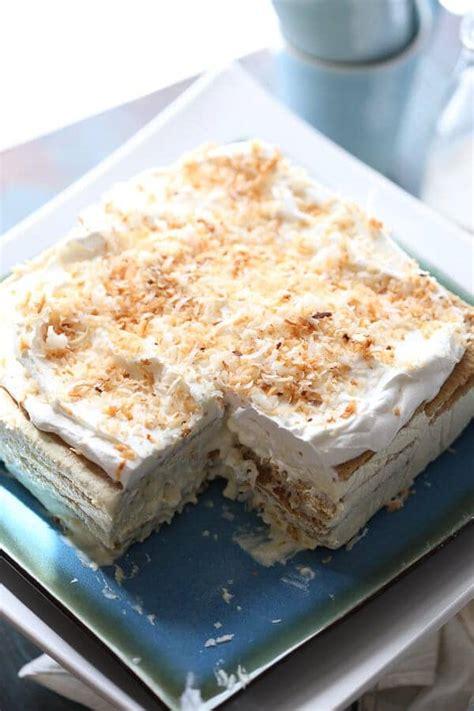 bake layered dessert lush recipes crazy  crust